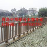 供应青岛市市北区木塑护栏厂