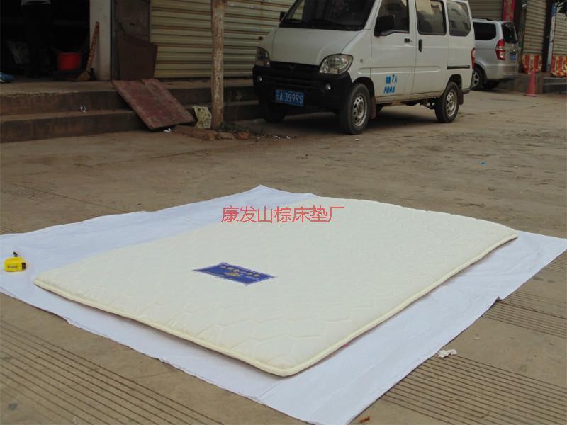 供应无胶手缝山棕薄垫厂家销售图片