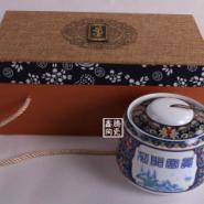 礼品瓷器-高档茶叶罐-批发图片