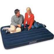 INTEX品牌充气床单人双人植绒面料图片