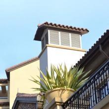 青岛别墅专用成品檐沟落水系统图片