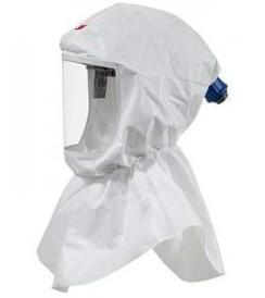 供应3MS-605-10呼吸防护头罩 3M头罩 喷漆/粉尘/制药头罩