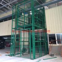 供应导轨升降货梯厂家定做1吨5米