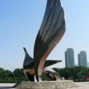不锈钢金属雕塑图片