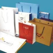 供应高档品牌纸袋 高档婚庆纸袋 环保袋 白卡纸购物袋定做