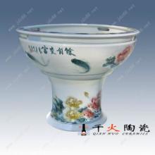 陶瓷大缸厂供应园林艺术摆件 高脚大缸