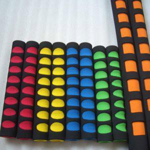 彩色橡胶管 双色橡塑管 手柄把套图片