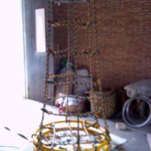 供应船用平台吊笼