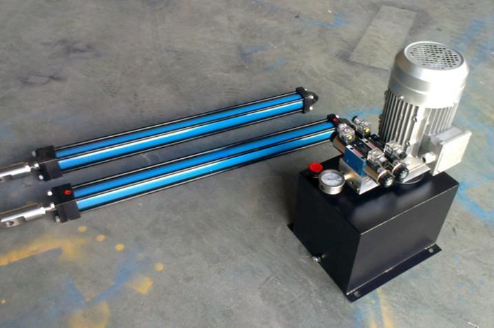 供应夹紧液压动力单元油缸设备价格图片