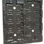 全国最低价电子元件抗静电吸塑盒图片