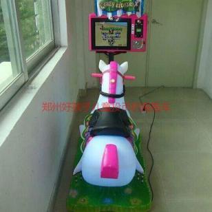 儿童摇摇机摇晃车3D赛马没眼怪图片