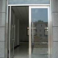 供应兰州红古区安装玻璃门,地弹门,质保一年,兰州创金泽门业