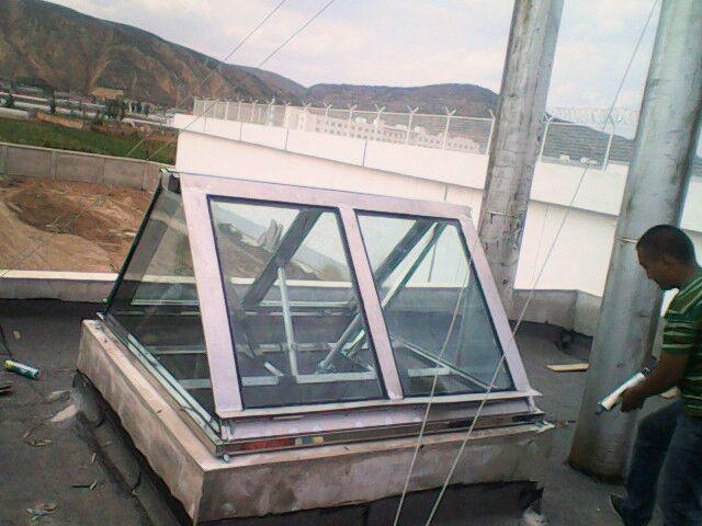 供应甘肃省哪有做屋顶电动天窗的图片