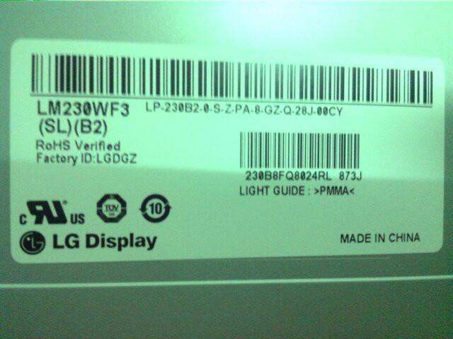供应LG23寸液晶屏LM230WF3SLB2