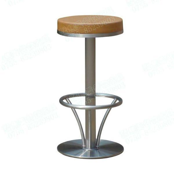 供应酒吧椅子 金属酒吧椅子 不锈钢吧椅 高吧椅定做图片