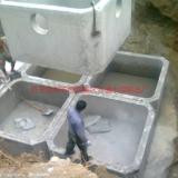 供应齐齐哈尔市PE波纹管水泥管化粪池