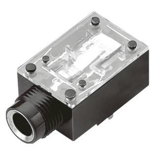 供应耳机插座pj-609a/插头有盖(透明胶片)