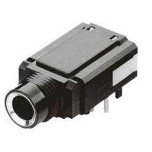 供应音频耳机插座pj-633a带柱DIP插卡固定+铜端子、带铜套