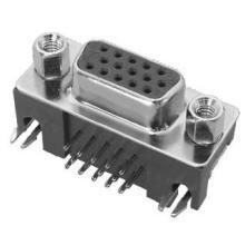 供应DR15-06视频插座90度两脚DI+16p插头批发