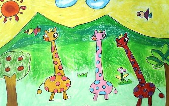 嘉兴儿童学美术嘉兴儿童绘画图片大全图片