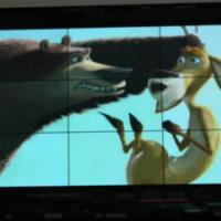 55寸液晶大屏监控大屏大数据LCD显示屏智能化弱电电视墙三星拼接屏