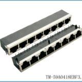 RJ45网络插座连接器