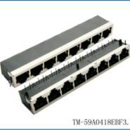 RJ45网络插座连接器图片