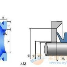 供应V形密封进口V型橡胶夹布密封圈 图片