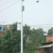 小区监控5米八角杆图片