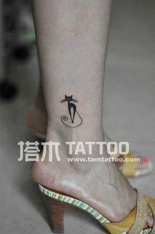 供应脚踝纹身刺青图片