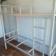 铁架上下双层床图片