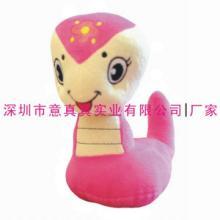 供应毛绒玩具蛇 毛绒蛇生产厂家 毛绒玩具蛇宝宝 意真真