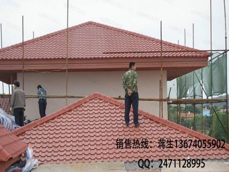 v厂家地热武夷山厂家瓦福建树脂瓦1050型树脂瓦树脂直销南平建筑设计图片
