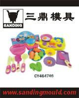 供应儿童餐具模具设计 温州餐具模具定做图片