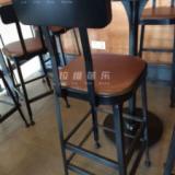 供应上海最大的星巴克铁艺吧椅吧凳厂家