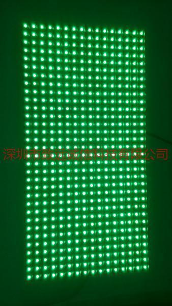 供应P10室内表贴单绿单元板厂家优惠价/超低价