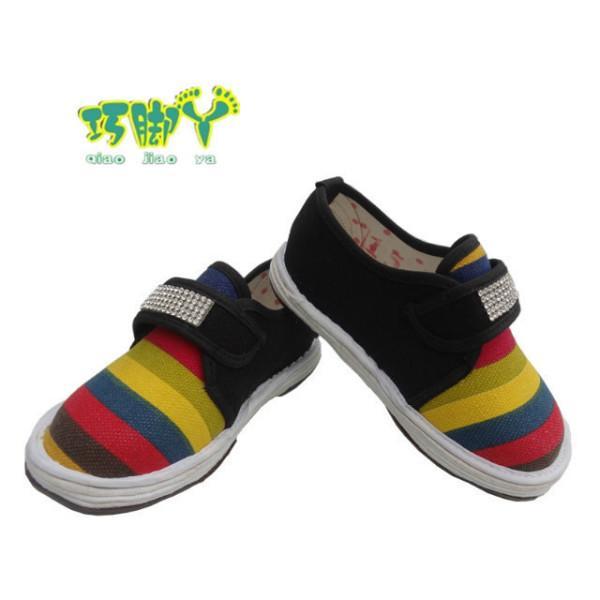 供应纯棉儿童鞋手工千层底布鞋批发