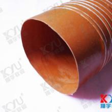 阻燃风管高温风管桔红色高温管图片