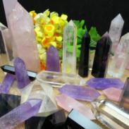 天然家居办公室水晶摆件图片