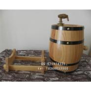 橡木桶酒桶3L红酒桶啤酒桶木桶图片