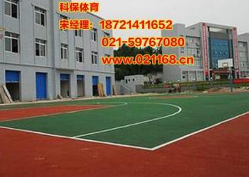无锡塑胶篮球场施工价格图片
