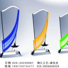 中国LED首创奖水晶奖杯采购商,郑州第一届中国服装电商大会水晶礼品批发