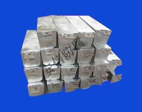 供应高活化铝合金牺牲阳极图片
