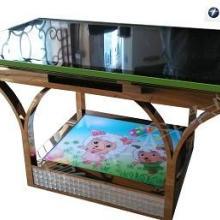 供应触摸茶桌大尺寸触控茶几定做智能桌专业定制各种款式桌面式触摸桌批发