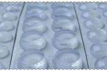 供应玻璃胶垫玻璃防滑胶垫白色胶垫