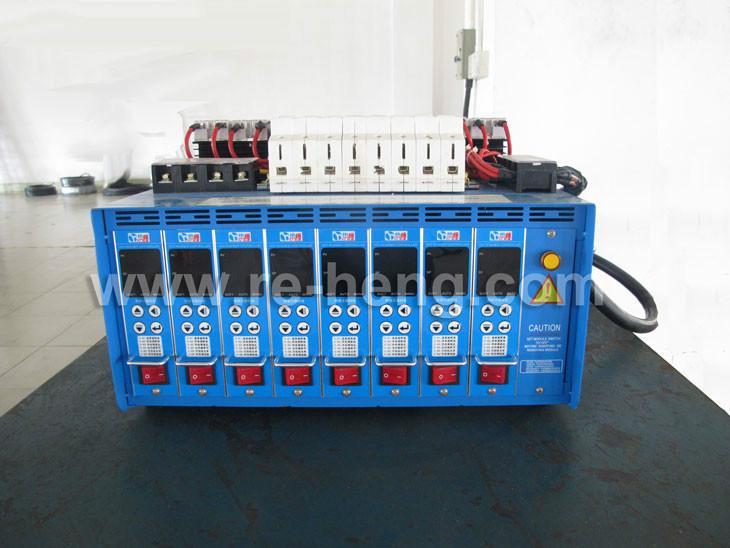热流道温控箱_8组温控箱热流道系统图片