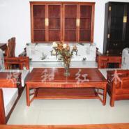 红木家具明式沙发件套图片