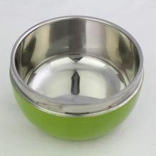 供应学生专用迷你苹果型不锈钢保温饭盒批发