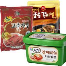 供应韩国食品-调味料辣酱调味油