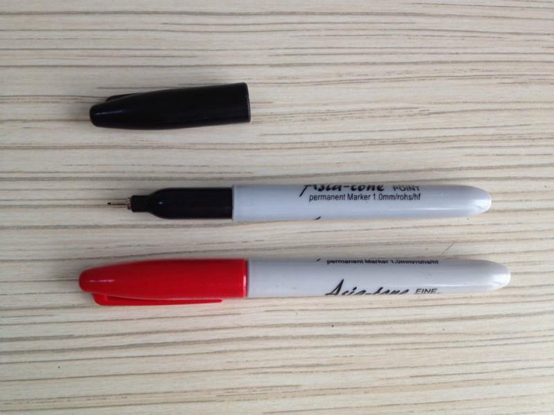 供应极细油性笔亚通超细油性记号笔